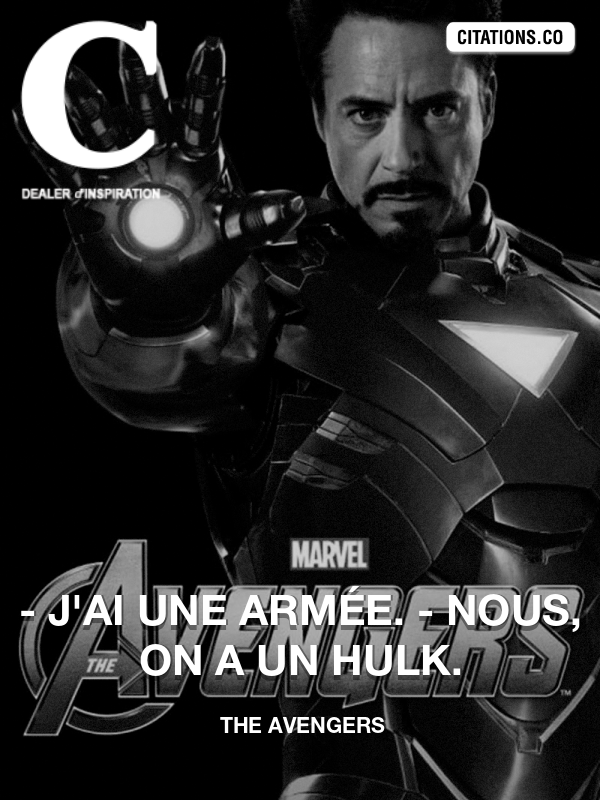 Citation de The Avengers-5a38c705178f3