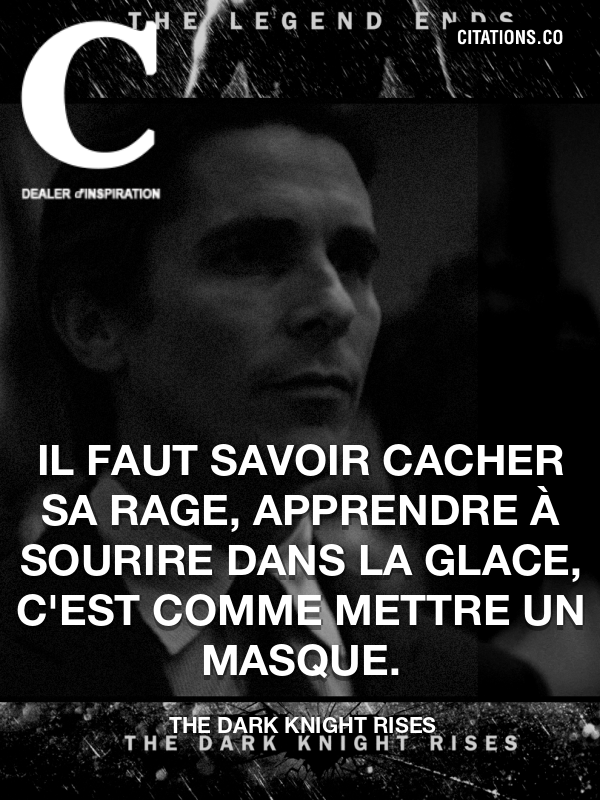 Citation de The Dark Knight Rises