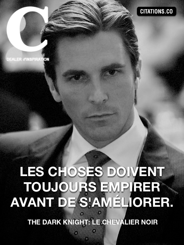 Citation de The Dark Knight: Le Chevalier Noir