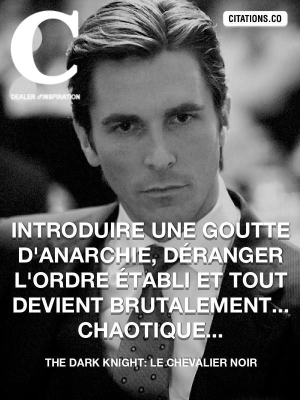 Citation de The Dark Knight: Le Chevalier Noir-5a9cced285fe1