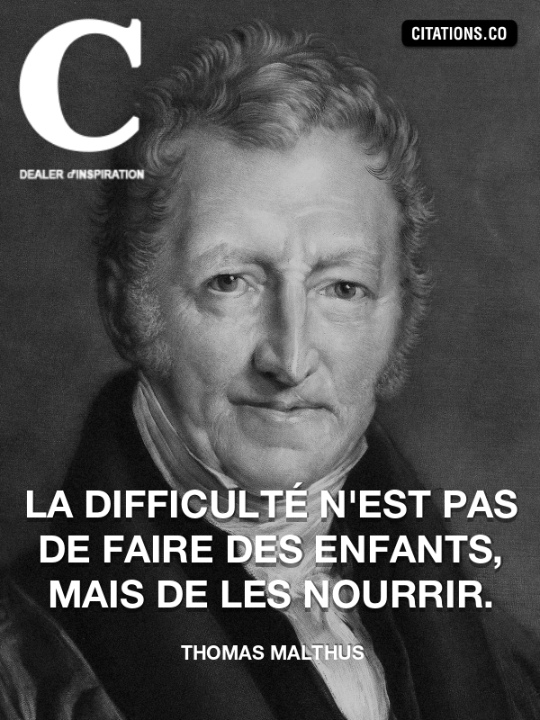 Citation de Thomas Malthus-5d518d07efb39