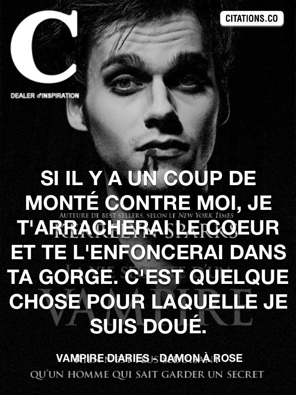 Vampire Diaries Recherche De Citations Proverbes Auteurs Phrases Cultes Personnages De Fictions Citation Inspiration Com