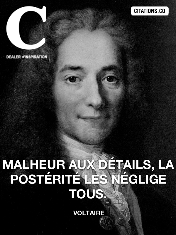 Citation de Voltaire