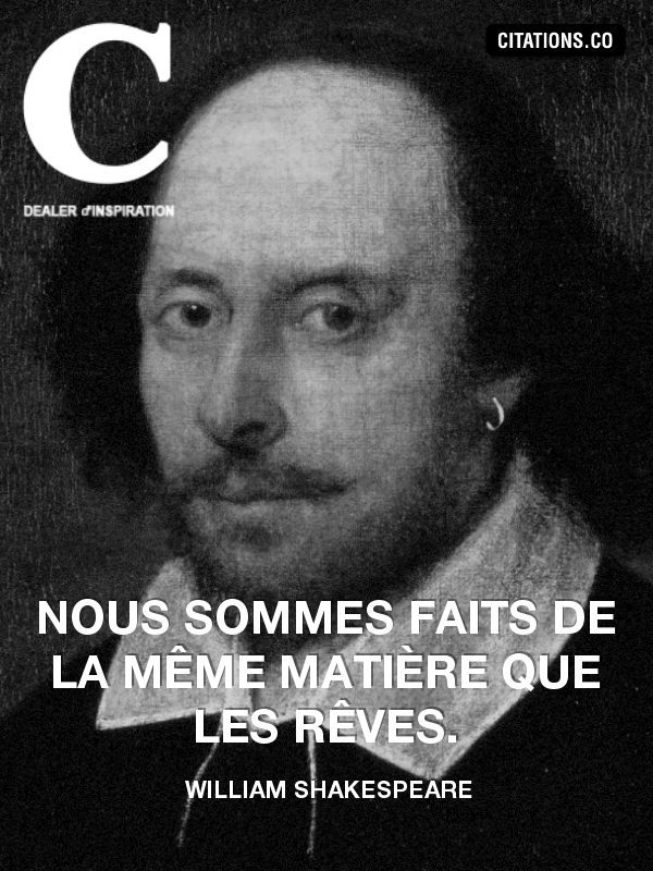Citation de William Shakespeare