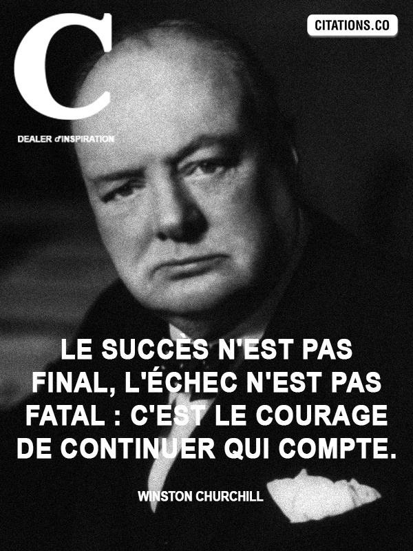 Citation de Winston Churchill