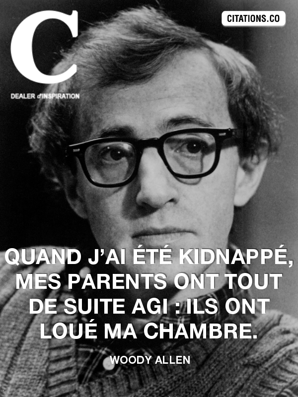 Citation de Woody Allen-3127800