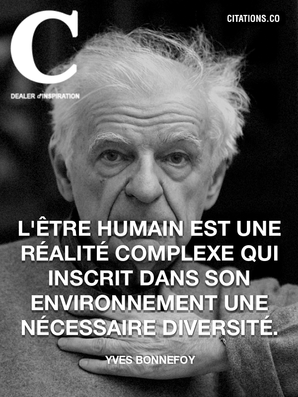 Citation de Yves Bonnefoy