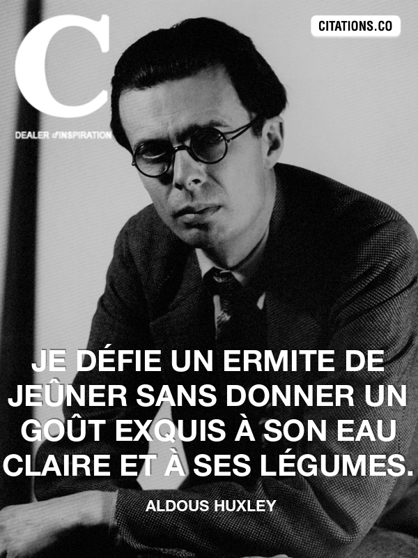 Citation de aldous huxley-4029477