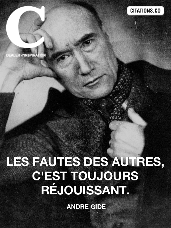 Citation de andre gide-4245930