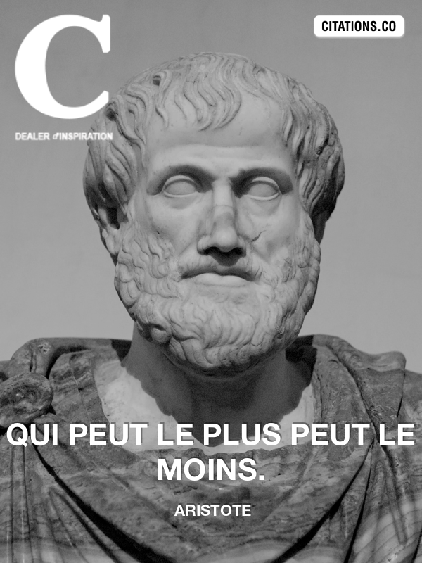 Citation de aristote-1357510