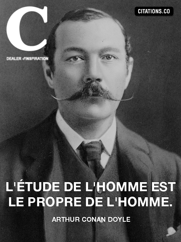 Citation de arthur conan doyle-469242