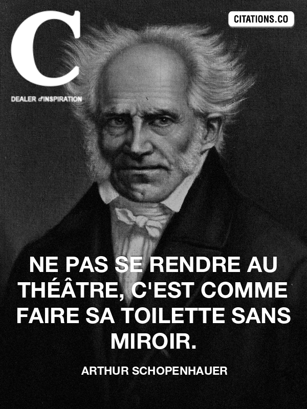 Citation de arthur schopenhauer
