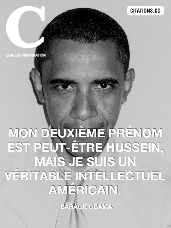Citation de Barack obama