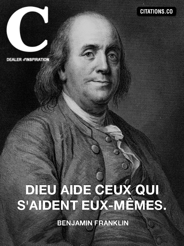 Citation de benjamin franklin-22589280