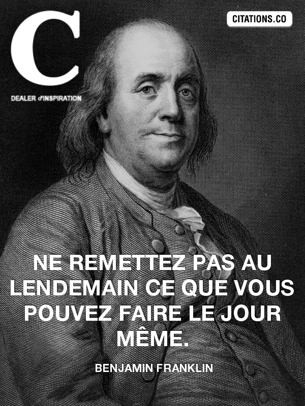Citation de benjamin franklin-24944400
