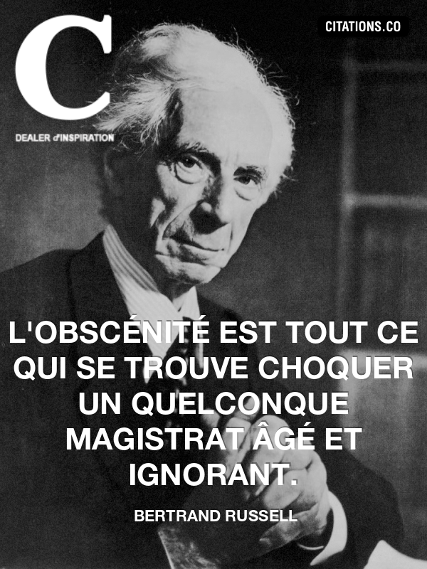 Citation de bertrand russell