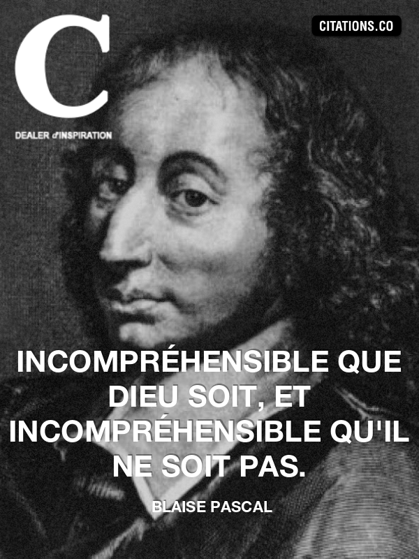 Citation de blaise pascal-5548862
