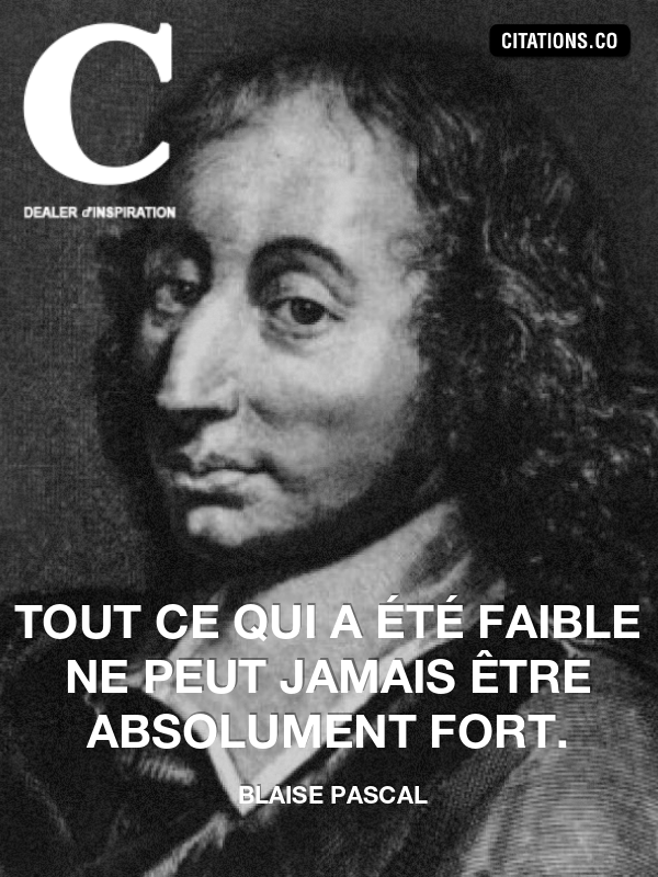 Citation de blaise pascal-8255520