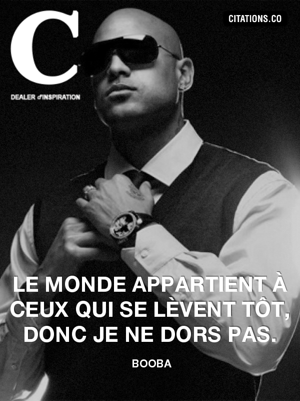 Citation de booba-6981390