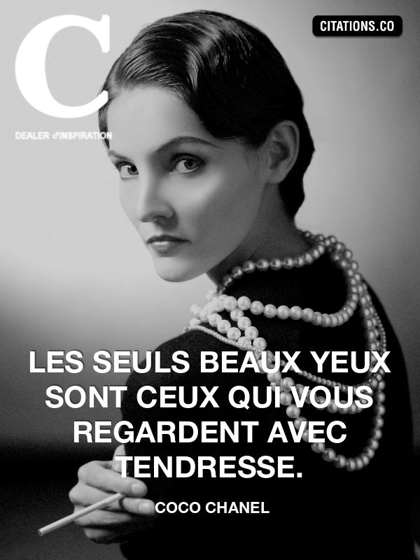 Citation de coco chanel-10757106