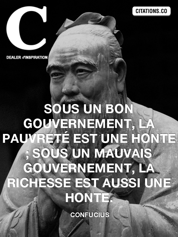 Citation de confucius
