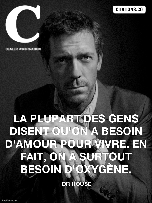 Citation de dr house-215040