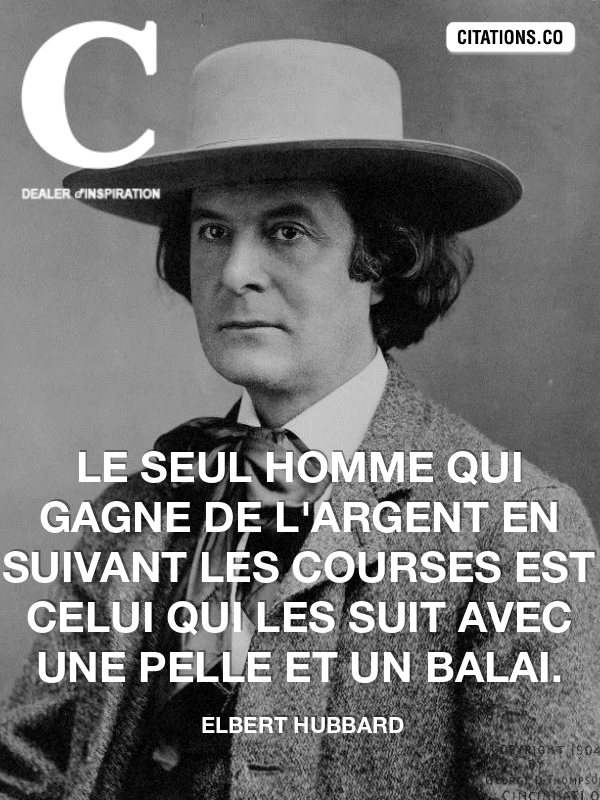 Citation de elbert hubbard