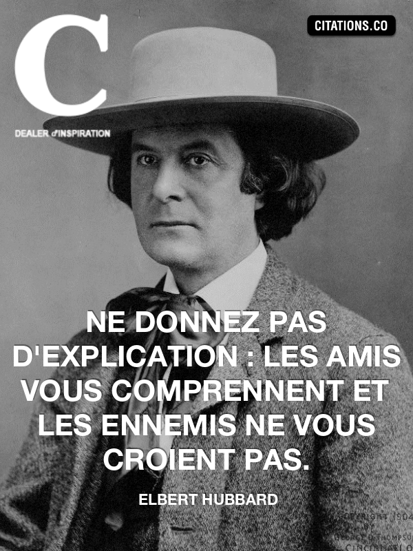 Citation de elbert hubbard-5442381