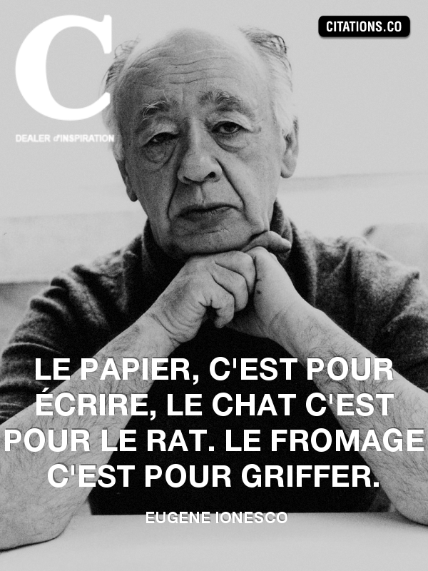 Citation de eugene ionesco-4445360