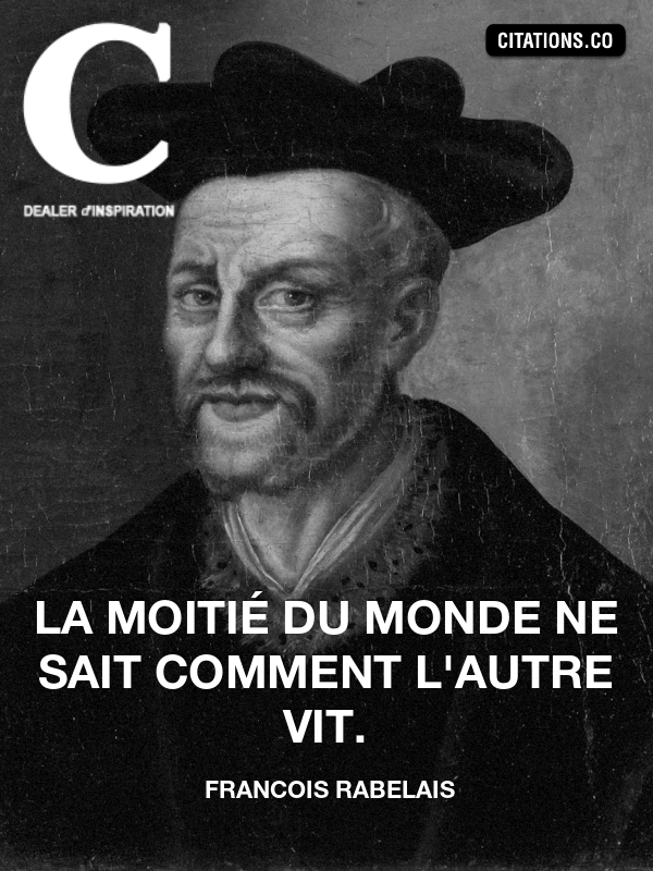 Citation de francois rabelais-10408308