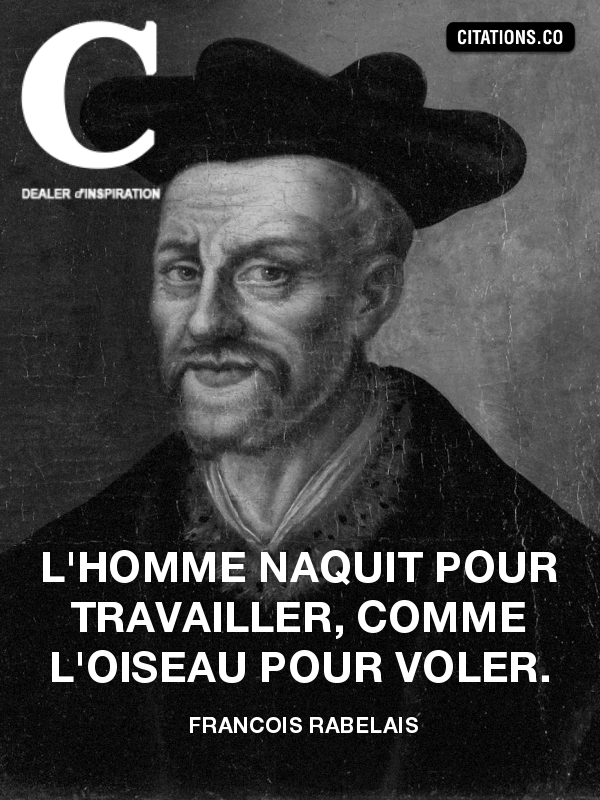 Citation de francois rabelais