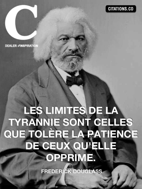 Citation de frederick douglass