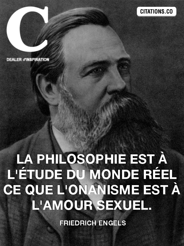 Citation de friedrich engels