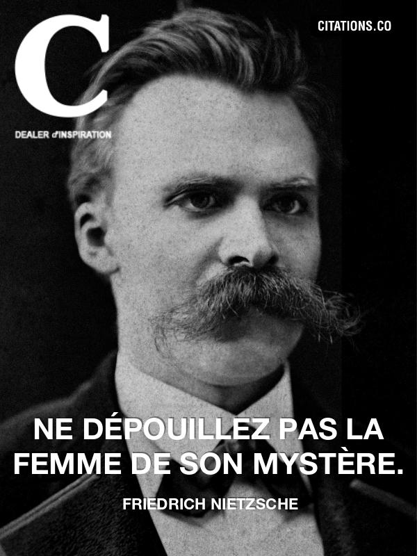 Citaten Nietzsche : Citation de friedrich nietzsche n°
