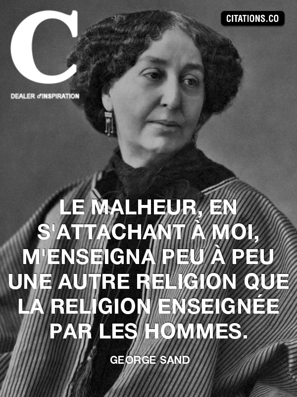 Citation de george sand