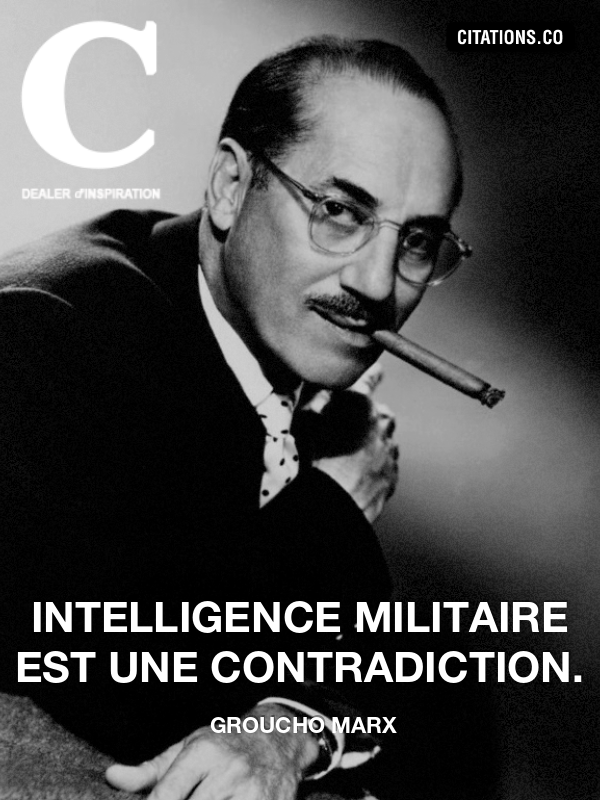 Citation de groucho marx-933504