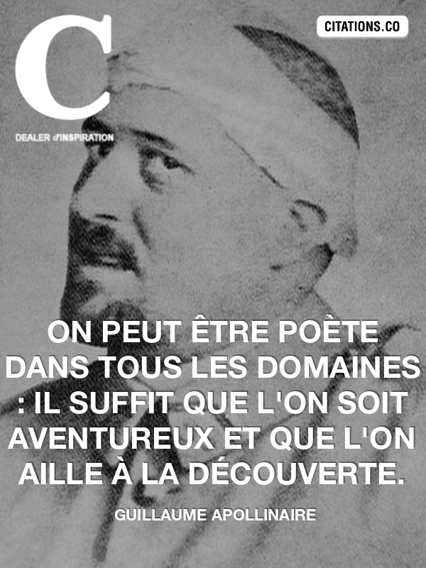 Citation de guillaume apollinaire-2945232