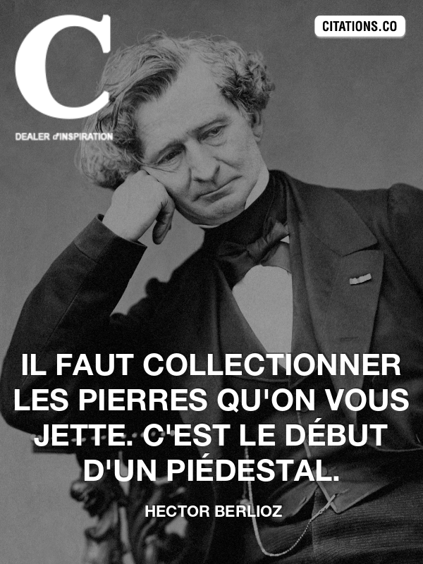 Citation de hector berlioz