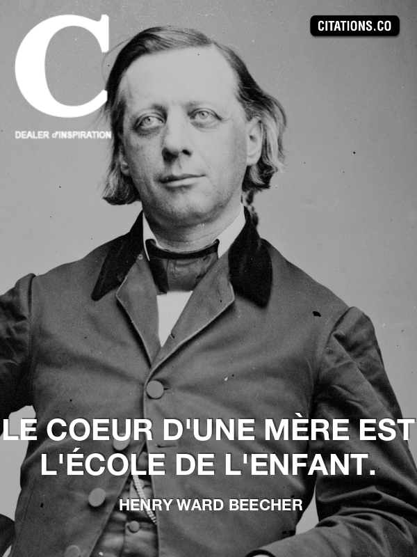 Citation de henry ward beecher-7533750