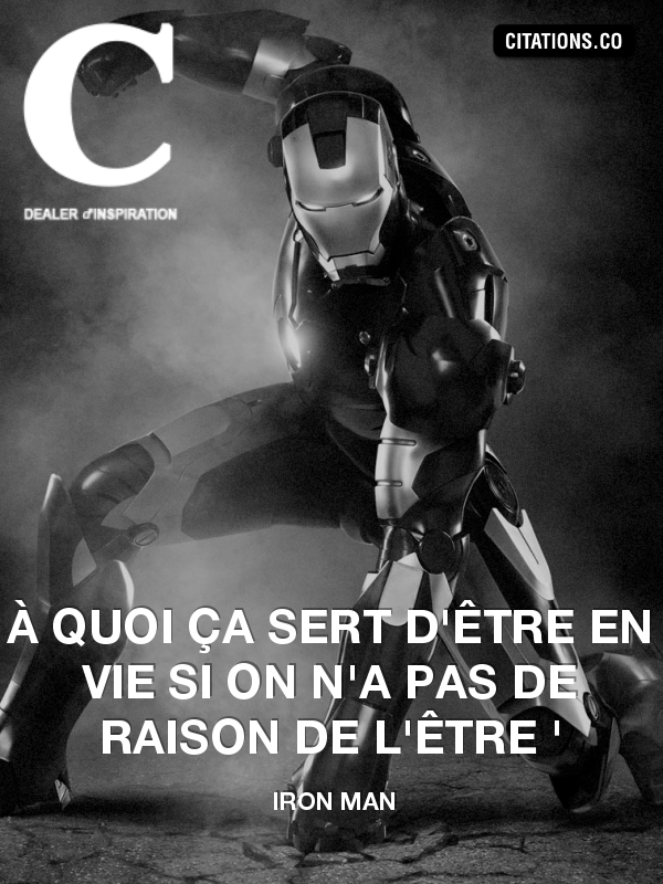 Citation de iron man-17712300
