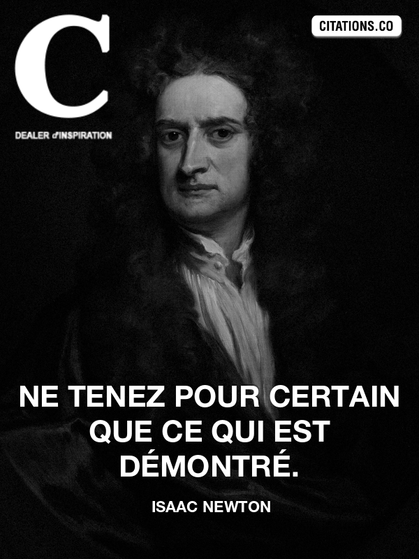 Citation de isaac newton-182903