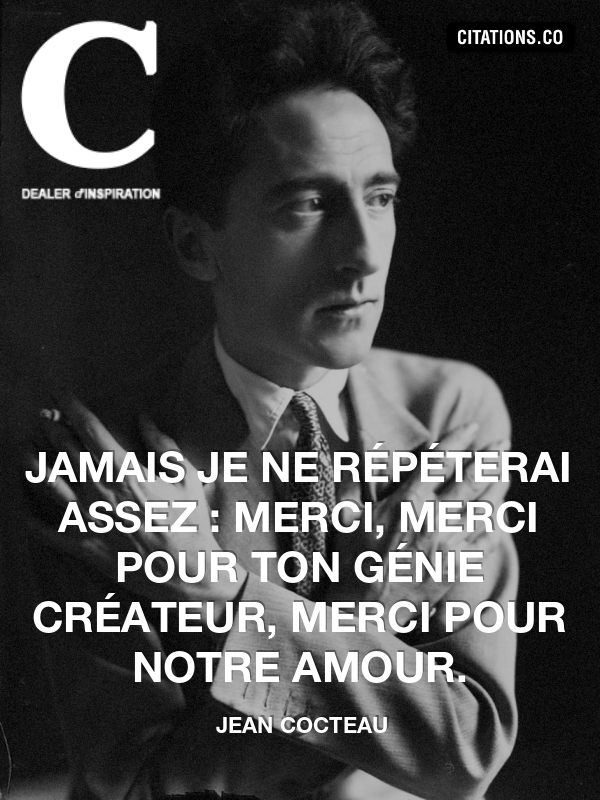 Citation de jean cocteau-4011648