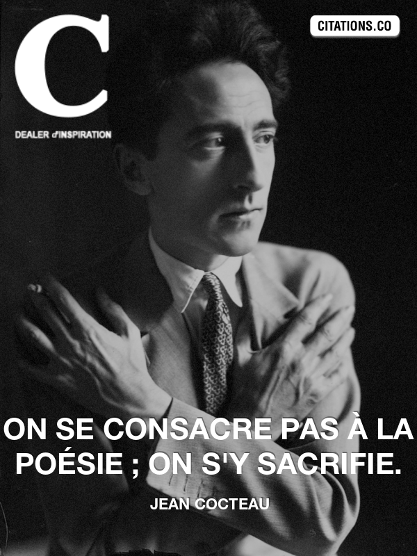 Citation de jean cocteau-60550440