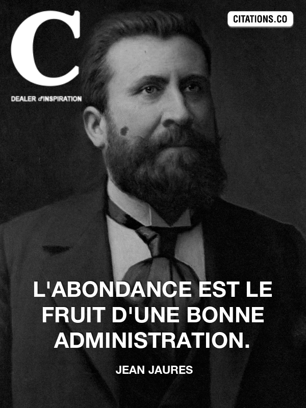 Citation de jean jaures-19081600