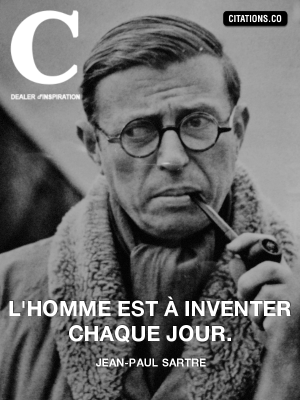 Citation de jean-paul sartre-8763755
