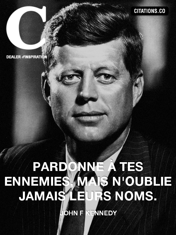 Citation de john f kennedy
