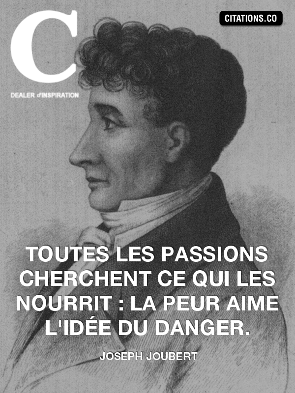 Citation de joseph joubert