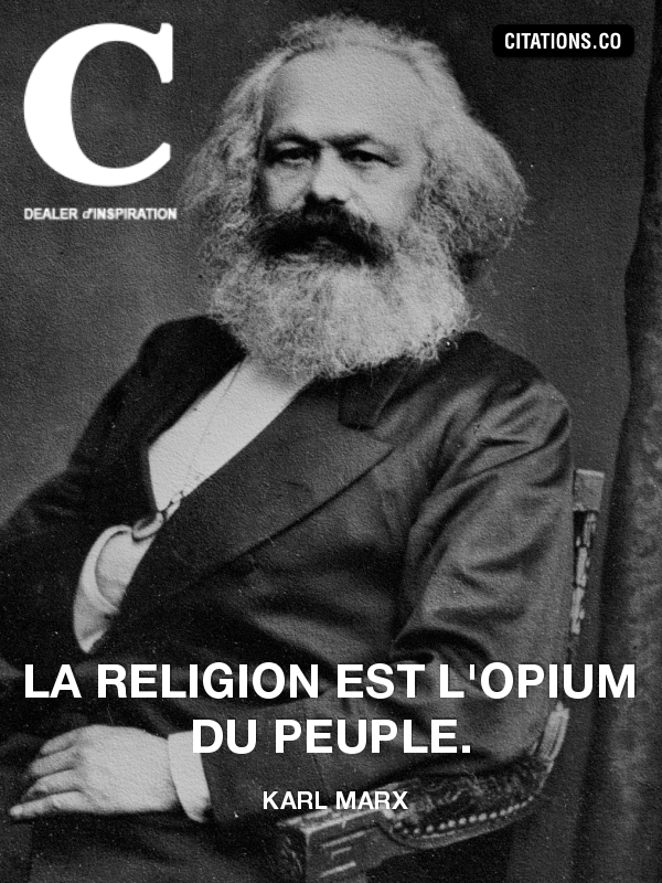 Citation de karl marx