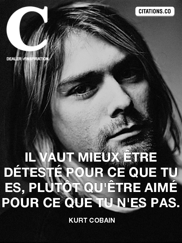 Citation de kurt cobain-2543184