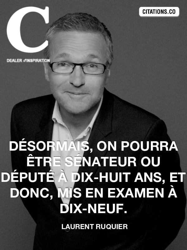 Citation de laurent ruquier
